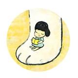 奈良美智第一本繪本作品《寂寞的大狗》,畫出他內心巨大的孤獨