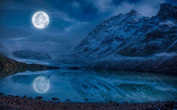停止和自己的戰爭吧,讓滿月帶走你的負能量