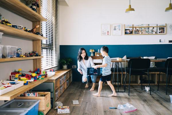 讓小孩自動自發收玩具!有小孩仍能維持整潔的四大祕訣